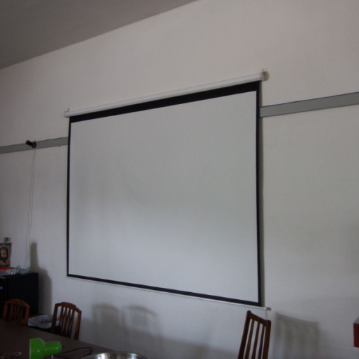 Projector Screen manual 150 by 150cm