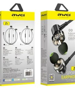 Awei Z1 Dual Drivers Wired In-ear Earphone