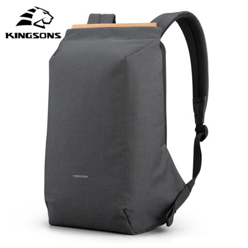 KINGSONS KS3207W Anti theft Backpack with USB Charger Port